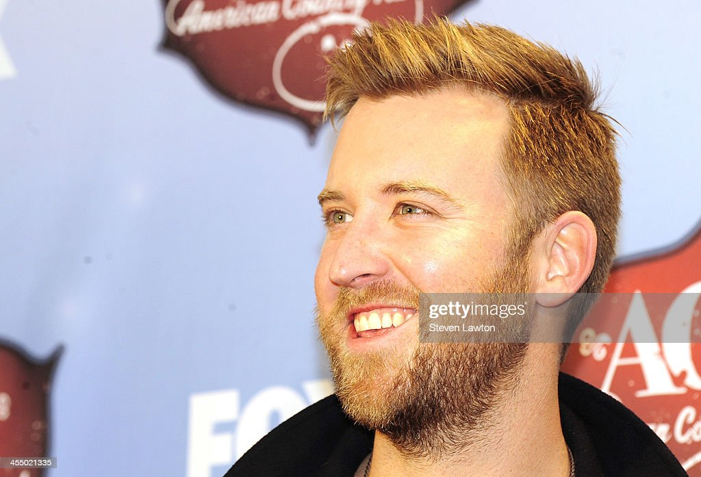 Singer Charles Kelly of Lady Antebellum poses in th press room during the American Country Awards 2013 at the Mandalay Bay Events Center on December 10, 2013 in Las Vegas, Nevada.