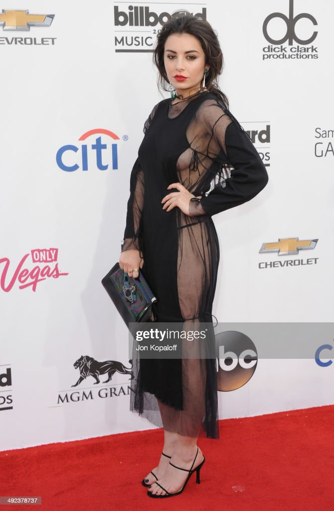 Singer <a gi-track='captionPersonalityLinkClicked' href=/galleries/search?phrase=Charli+XCX&family=editorial&specificpeople=5807231 ng-click='$event.stopPropagation()'>Charli XCX</a> arrives at the 2014 Billboard Music Awards at the MGM Grand Hotel and Casino on May 18, 2014 in Las Vegas, Nevada.