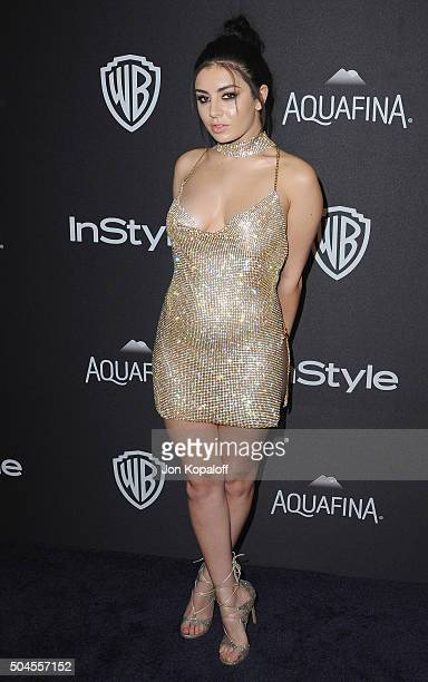 Singer Charli XCX arrives at the 2016 InStyle And Warner Bros 73rd Annual Golden Globe Awards PostParty at The Beverly Hilton Hotel on January 10...