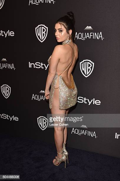 Singer Charli XCX attends InStyle and Warner Bros 73rd Annual Golden Globe Awards PostParty at The Beverly Hilton Hotel on January 10 2016 in Beverly...