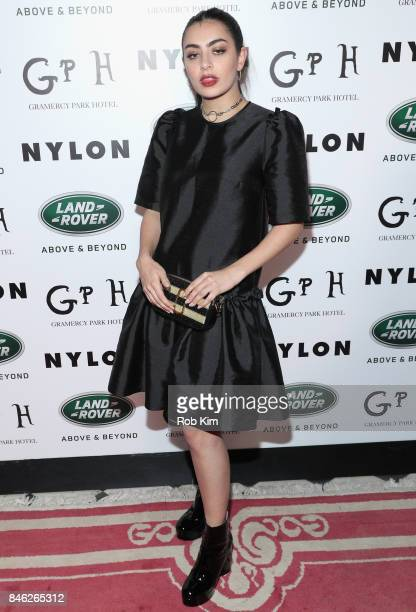 Singer Charli XCX attends NYLON's Rebel Fashion Party powered by Land Rover at Gramercy Terrace at Gramercy Park Hotel on September 12 2017 in New...