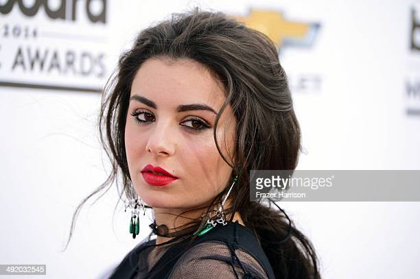 Singer Charli XCX attends the 2014 Billboard Music Awards at the MGM Grand Garden Arena on May 18 2014 in Las Vegas Nevada