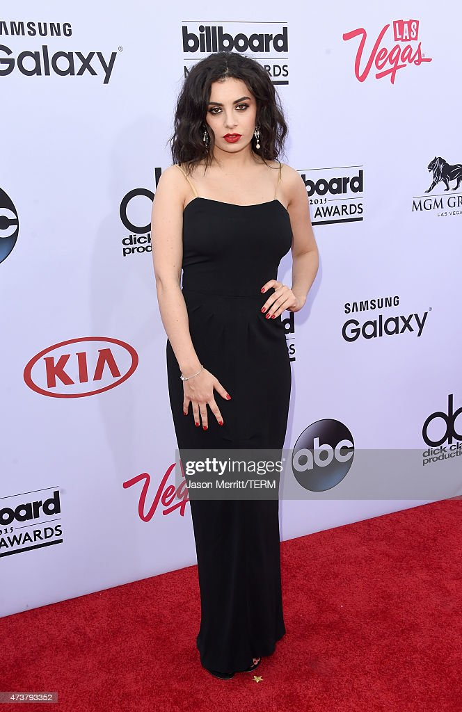Singer Charli XCX attends the 2015 Billboard Music Awards at MGM Grand Garden Arena on May 17 2015 in Las Vegas Nevada