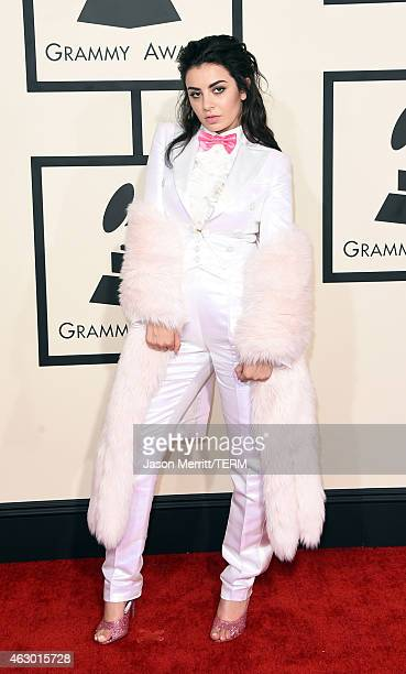 Singer Charli XCX attends The 57th Annual GRAMMY Awards at the STAPLES Center on February 8 2015 in Los Angeles California