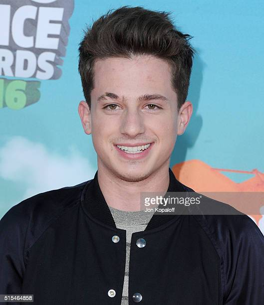 Singer Charlie Puth arrives at Nickelodeon's 2016 Kids' Choice Awards at The Forum on March 12 2016 in Inglewood California