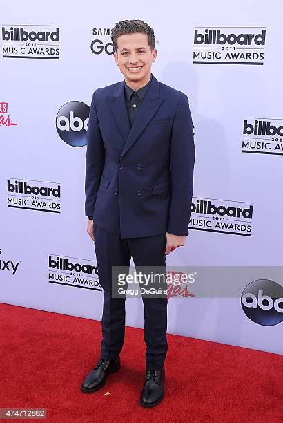 Singer Charlie Puth arrives at the 2015 Billboard Music Awards at MGM Garden Arena on May 17 2015 in Las Vegas Nevada