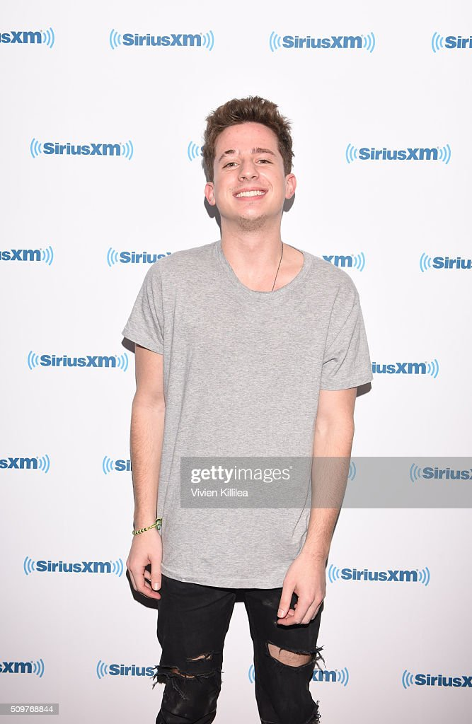 Singer <a gi-track='captionPersonalityLinkClicked' href=/galleries/search?phrase=Charlie+Puth&family=editorial&specificpeople=9889377 ng-click='$event.stopPropagation()'>Charlie Puth</a> attends SiriusXM Hits 1's The Morning Mash Up Broadcast From The SiriusXM Studios In Los Angeles on February 12, 2016 in Los Angeles, California.