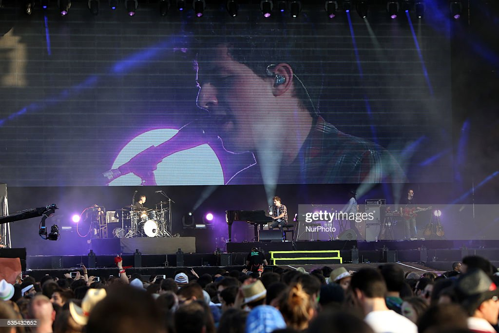 US singer <a gi-track='captionPersonalityLinkClicked' href=/galleries/search?phrase=Charlie+Puth&family=editorial&specificpeople=9889377 ng-click='$event.stopPropagation()'>Charlie Puth</a> performs at Rock in Rio Lisboa 2016 music festival in Lisbon, Portugal on May 29, 2016.