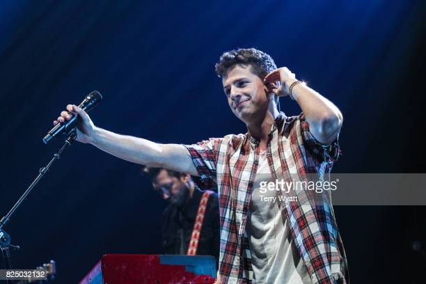 Singer Charlie Puth performs during the Illuminate World Tour at Bridgestone Arena on July 31 2017 in Nashville Tennessee