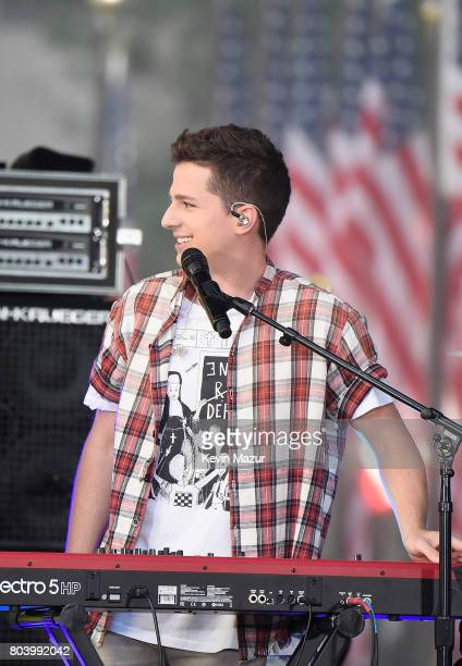 Singer Charlie Puth performs onstage during Citi Concert Series on TODAY Presents Charlie Puth at Rockefeller Plaza on June 30 2017 in New York City