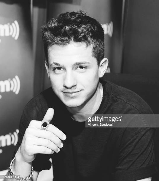 Singer Charlie Puth visits 'Hits 1 In Hollywood' on SiriusXM Hits 1 Channel at the SiriusXM Studios in Los Angeles on April 20 2017 in Los Angeles...