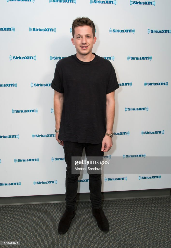 """Charlie Puth Visits """"Hits 1 In Hollywood"""" On SiriusXM Hits 1 Channel At The SiriusXM Studios In Los Angeles"""