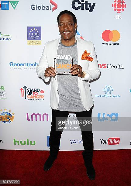 Singer Charlie Wilson attends Hollywood Unites For The 5th Biennial Stand Up To Cancer A Program Of The Entertainment Industry Foundation at Walt...