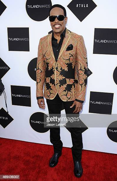 Singer Charlie Wilson attends the 2015 TV LAND Awards at Saban Theatre on April 11 2015 in Beverly Hills California
