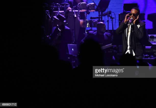 Singer Charlie Wilson performs during the Apollo Spring Gala 2017 at The Apollo Theater on June 12 2017 in New York City