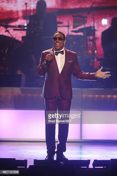 Singer Charlie Wilson performs onstage during 'The BET Honors' 2015 at Warner Theatre on January 24 2015 in Washington DC