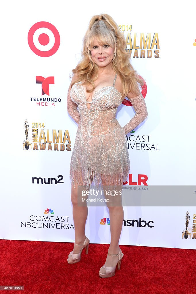 Singer Charo attends the 2014 NCLR ALMA Awards at the Pasadena Civic Auditorium on October 10 2014 in Pasadena California