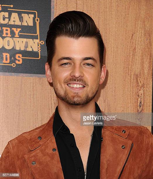 Singer Chase Bryant poses in the press room at the 2016 American Country Countdown Awards at The Forum on May 01 2016 in Inglewood California