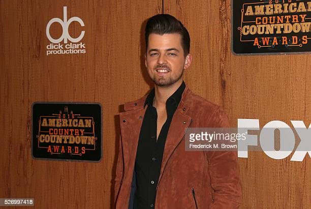 Singer Chase Bryant poses in the press room during the 2016 American Country Countdown Awards at The Forum on May 1 2016 in Inglewood California