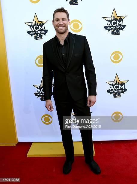 Singer Chase Rice attends the 50th Academy of Country Music Awards at ATT Stadium on April 19 2015 in Arlington Texas
