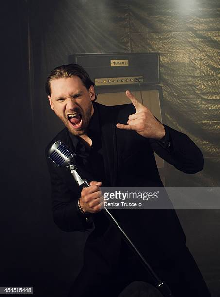 Singer Chase Rice poses for a portrait at the Academy of Country Music Awards for People Magazine on April 6 2014 in Las Vegas Nevada