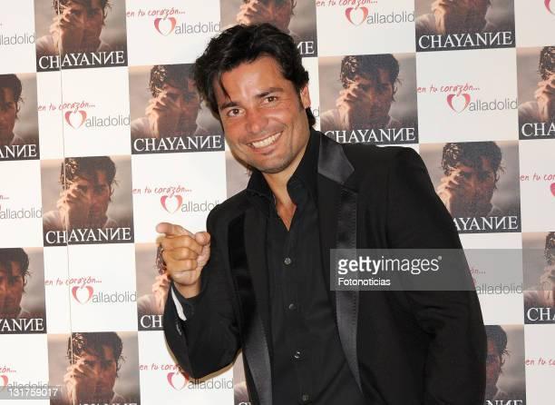 Singer Chayanne presents his new album 'No Hay Imposible' at the Palacio de los Deportes on May 26 2010 in Madrid Spain
