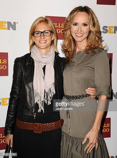 Singer Chely Wright and Lauren Blitzer attend the 8th annual GLSEN Respect Awards at Beverly Hills Hotel on October 5 2012 in Beverly Hills California