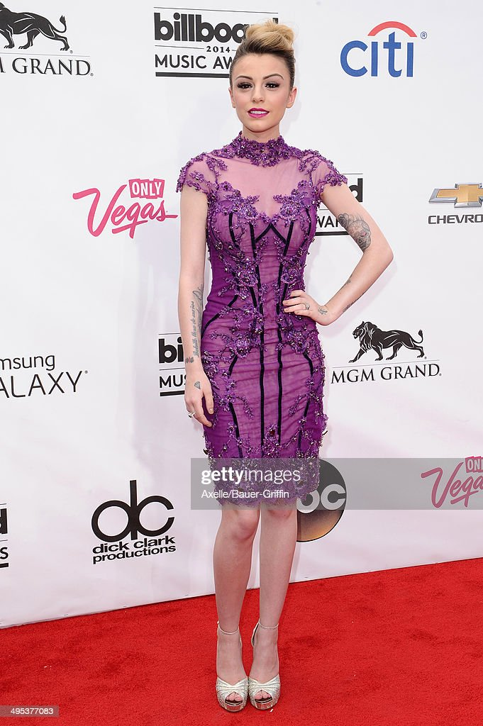 Singer Cher Lloyd arrives at the 2014 Billboard Music Awards at the MGM Grand Garden Arena on May 18, 2014 in Las Vegas, Nevada.