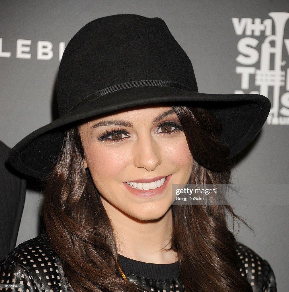Singer Cher Lloyd arrives at the Bloomingdale's Glendale Opening Gala Celebration with VH1 Save The Music Foundation at Bloomingdale's Glendale on November 6, 2013 in Glendale, California.