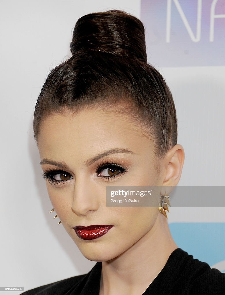 Singer <a gi-track='captionPersonalityLinkClicked' href=/galleries/search?phrase=Cher+Lloyd&family=editorial&specificpeople=7229738 ng-click='$event.stopPropagation()'>Cher Lloyd</a> arrives at the NARM Music Biz Awards dinner party at the Hyatt Regency Century Plaza on May 9, 2013 in Century City, California.