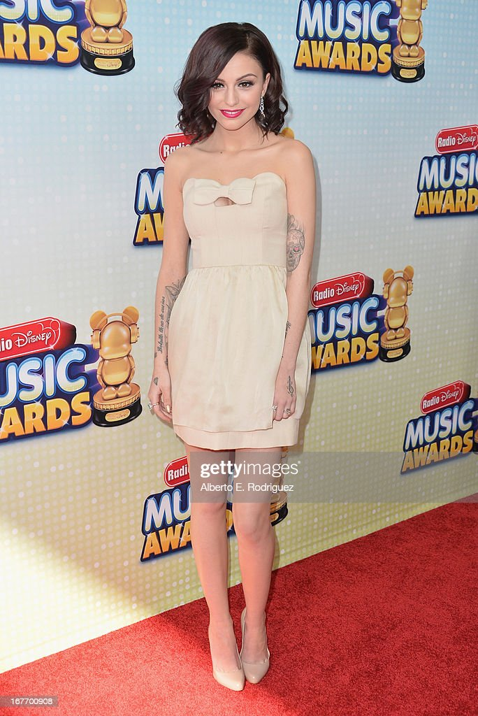 Singer Cher Lloyd arrives to the 2013 Radio Disney Music Awards at Nokia Theatre L.A. Live on April 27, 2013 in Los Angeles, California.