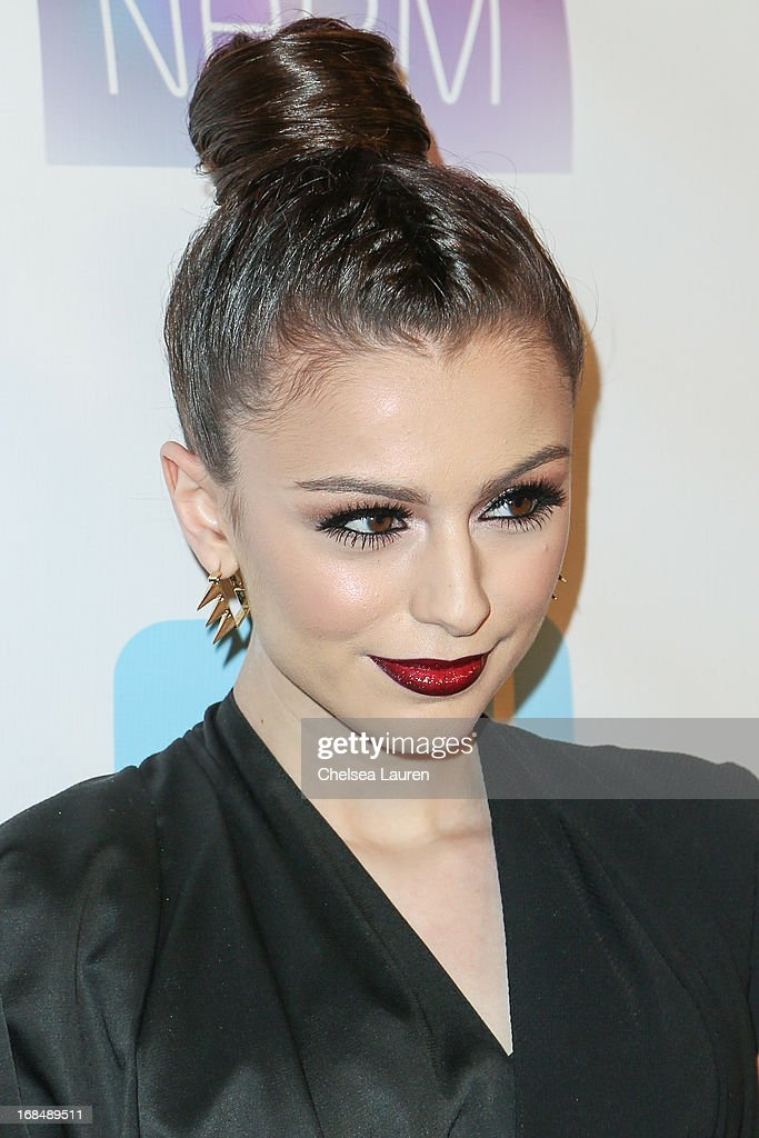 Singer Cher Lloyd attends the NARM Music Biz Awards dinner party at the Hyatt Regency Century Plaza on May 9, 2013 in Century City, California.