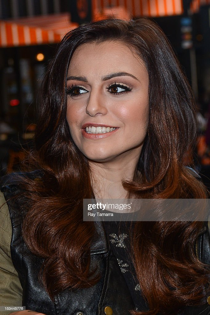 Singer Cher Lloyd leaves the 'Today Show' taping at the NBC Rckefeller Center Studios on October 5, 2012 in New York City.