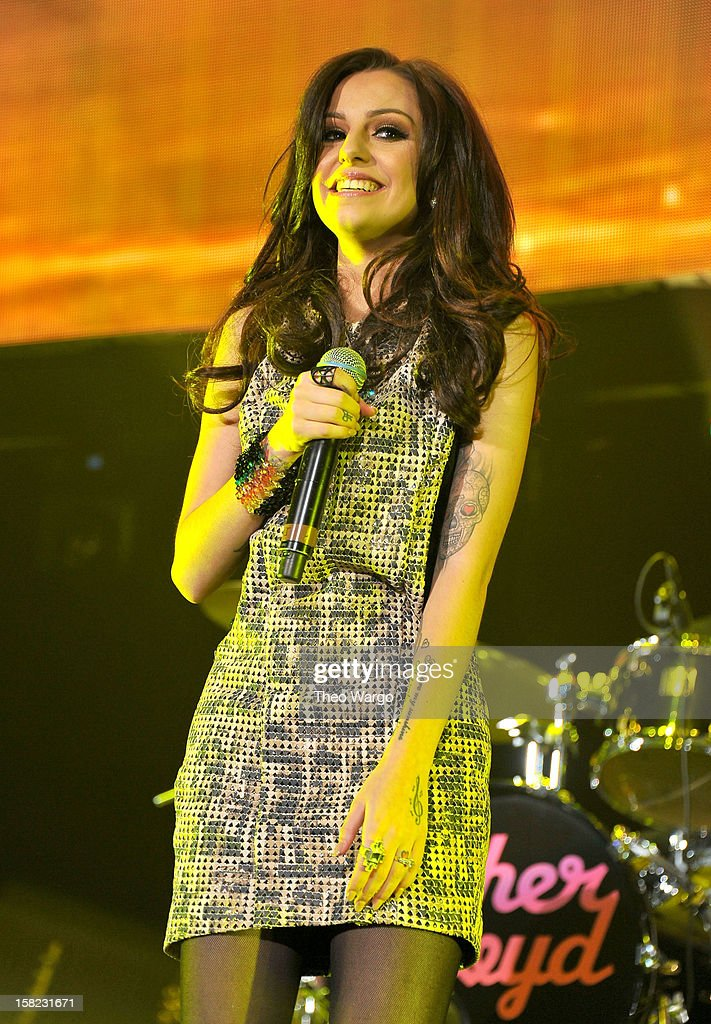 Singer Cher Lloyd performs onstage during Hot 99.5's Jingle Ball 2012, presented by Charleston Alexander Diamond Importers, at The Patriot Center on December 11, 2012 in Washington, D.C.