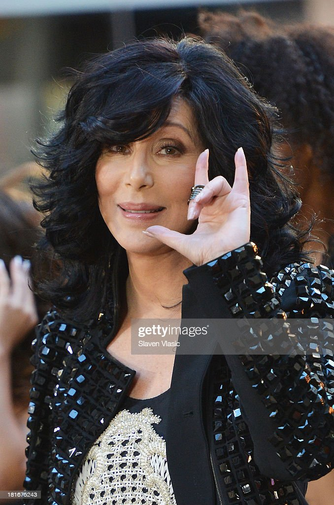 Singer Cher peforms on NBC's 'Today' at NBC's TODAY Show on September 23 2013 in New York City