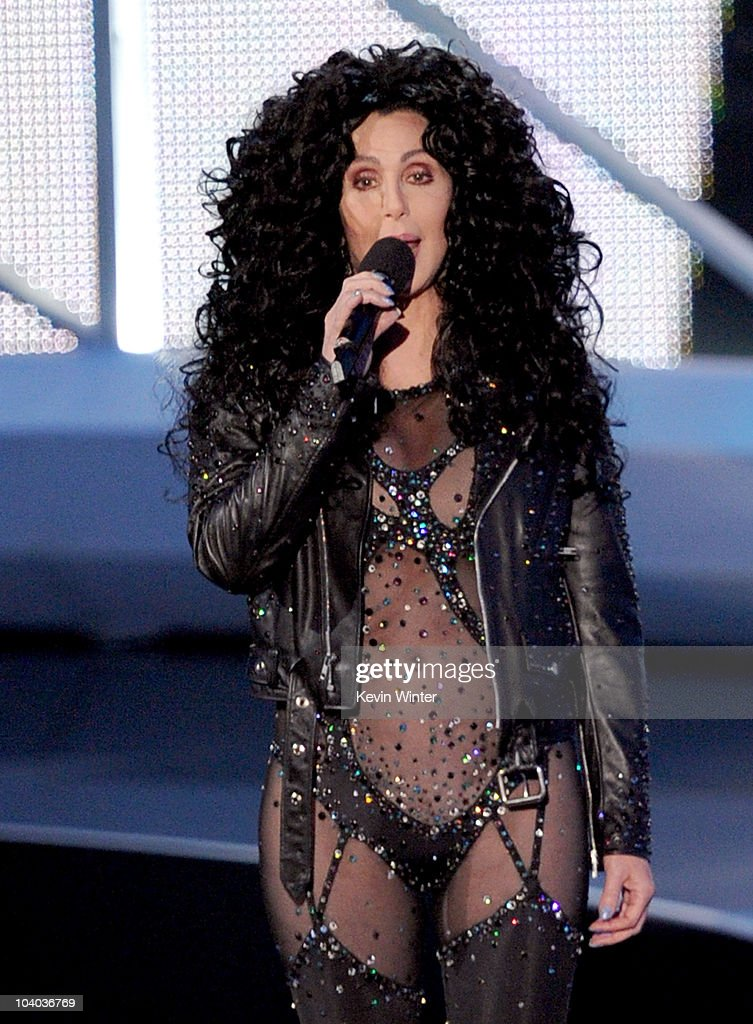 Singer Cher performs o...