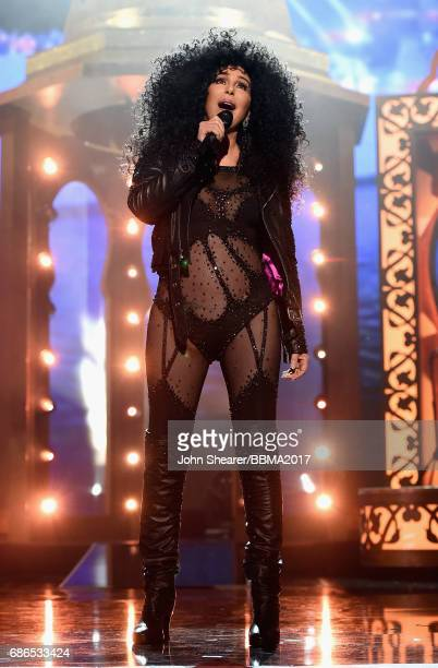 Singer Cher performs onstage during the 2017 Billboard Music Awards at TMobile Arena on May 21 2017 in Las Vegas Nevada