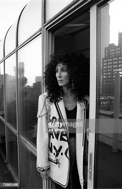 Singer Cher poses for photos on January 1988 in New York City Cher established herself as a legendary pop culture icon and one of the most popular...