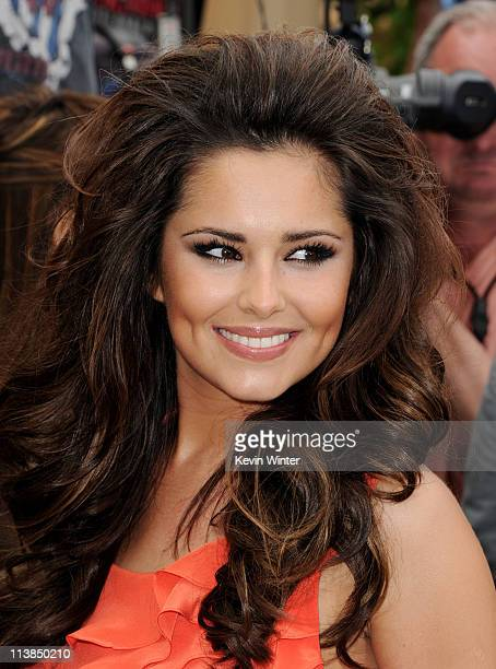 Singer Cheryl Cole arrives at the first round of auditions for Fox's 'The X Factor' at Galen Center on May 8 2011 in Los Angeles California