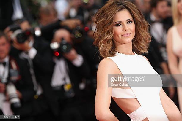 Singer Cheryl Cole attend the 'Outside Of The Law' Premiere at the Palais des Festivals during the 63rd Annual Cannes Film Festival on May 21 2010 in...