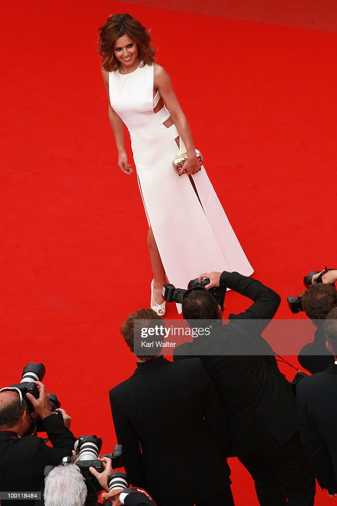 Singer Cheryl Cole attend the 'Outside Of The Law' Premiere at the Palais des Festivals during the 63rd Annual Cannes Film Festival on May 21, 2010 in Cannes, France.