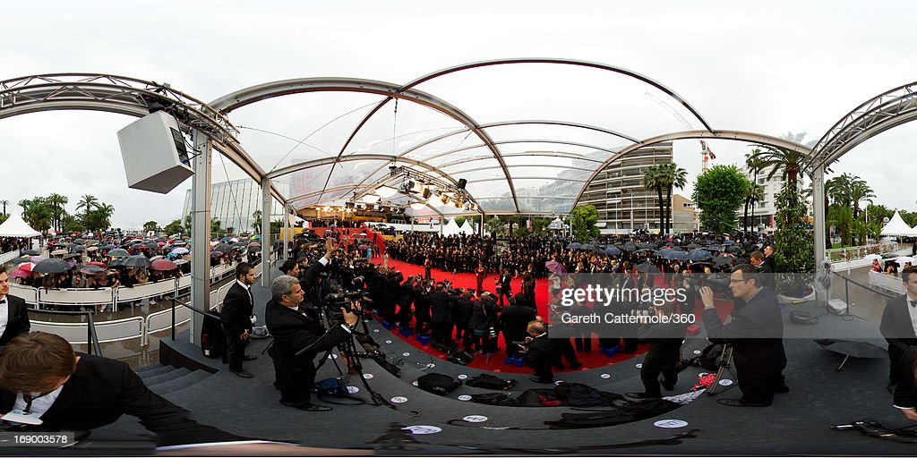 Singer Cheryl Cole attends 'Jimmy P. (Psychotherapy Of A Plains Indian)' Premiere during the 66th Annual Cannes Film Festival at Grand Theatre Lumiere on May 18, 2013 in Cannes, France. (Photo by Gareth Cattermole/360/Getty Images)2