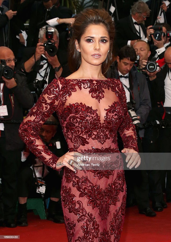 Singer Cheryl Cole attends the 'Jimmy P. (Psychotherapy Of A Plains Indian)' Premiere during the 66th Annual Cannes Film Festival at the Palais des Festivals on May 18, 2013 in Cannes, France.