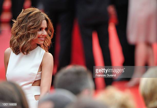 Singer Cheryl Cole attends the 'Outside Of The Law' Premiere at the Palais des Festivals during the 63rd Annual Cannes Film Festival on May 21 2010...