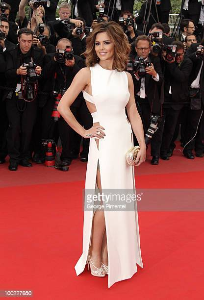Singer Cheryl Cole attends the 'Outside the Law' Premiere at the Palais des Festivals during the 63rd Annual International Cannes Film Festival on...