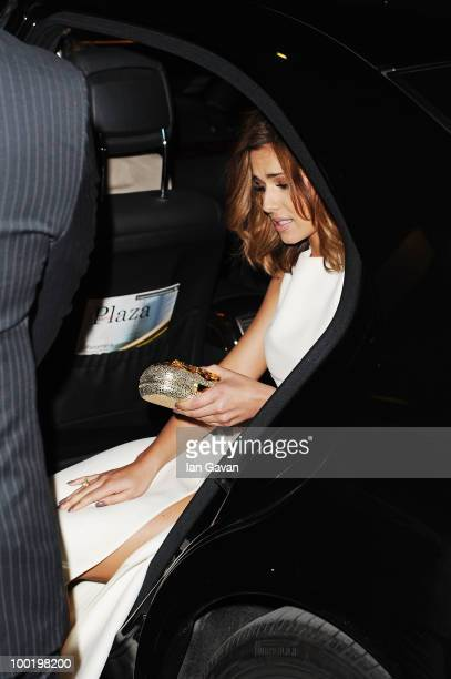 Singer Cheryl Cole departs the 'Outside Of The Law' Premiere at the Palais des Festivals during the 63rd Annual Cannes Film Festival on May 21 2010...