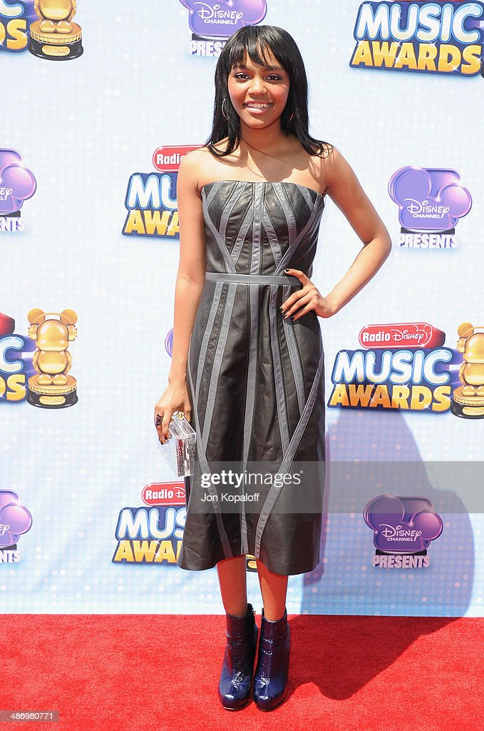 Singer <a gi-track='captionPersonalityLinkClicked' href=/galleries/search?phrase=China+Anne+McClain&family=editorial&specificpeople=4142795 ng-click='$event.stopPropagation()'>China Anne McClain</a> arrives at the 2014 Radio Disney Music Awards at Nokia Theatre L.A. Live on April 26, 2014 in Los Angeles, California.