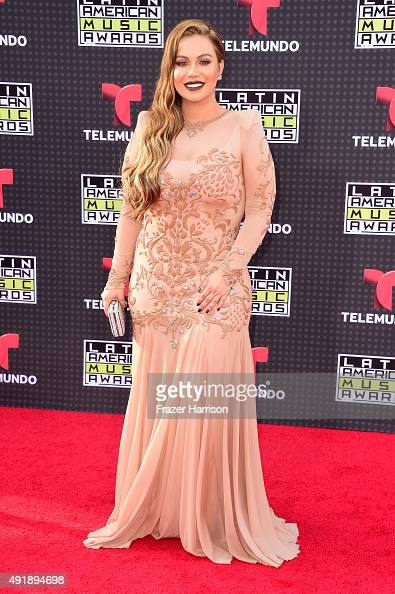 Singer Chiquis Rivera attends Telemundo's Latin American Music Awards at the Dolby Theatre on October 8 2015 in Hollywood California