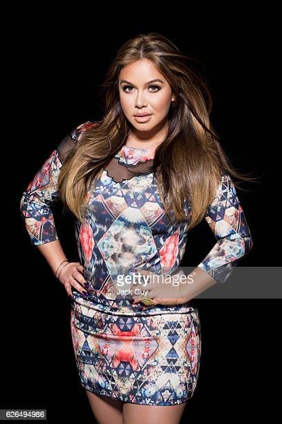 Singer Chiquis Rivera is photographed for Latina Magazine on January 9 2015 in Encino California