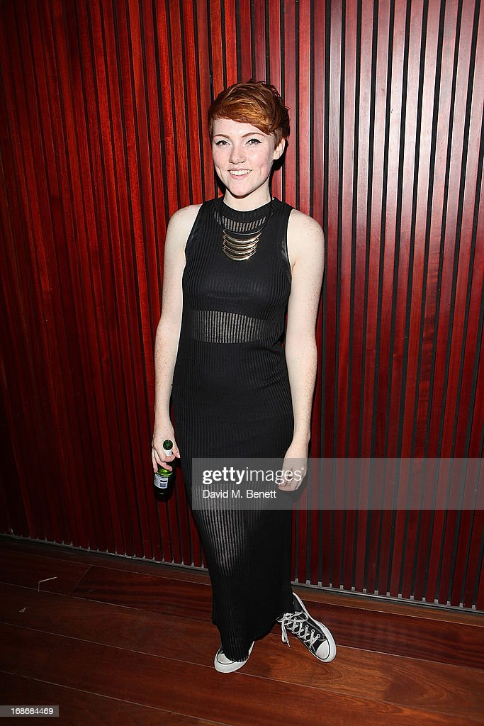 Singer Chloe Howl attends a listening party for Daft Punk's new album 'Random Access Memories' at The Shard on May 13, 2013 in London, England.